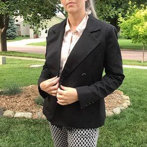 CABI black gab blazer jacket 6 (B3)